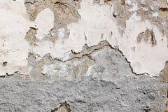 поврежденная стена Стоковая Фотография