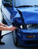 поврежденный автомобиль Стоковое Изображение RF