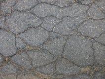 поврежденный асфальт Стоковые Фото