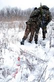 поврежденный воин спасения Стоковое фото RF