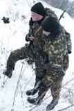поврежденный воин спасения Стоковые Фотографии RF