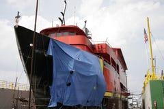 поврежденный корабль Стоковая Фотография