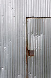 поврежденный металл двери Стоковая Фотография RF