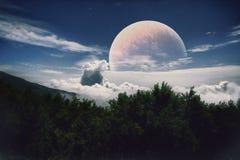 повреждает планету Стоковые Фото