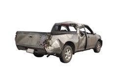 Повреждение автомобильной катастрофы Стоковая Фотография