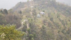 Повреждения на холмах Стоковые Изображения RF