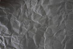 Поврежденная серая бумажная текстура Стоковое Изображение