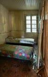 Поврежденная старая комната Стоковое Фото