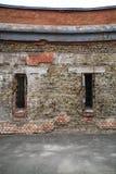 поврежденная стена Стоковые Фото