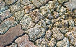 Поврежденные тротуары Стоковая Фотография