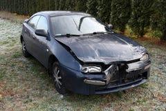 поврежденный автомобиль Стоковое фото RF