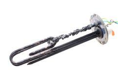 Поврежденный нагревающий элемент на белой предпосылке Стоковое Фото
