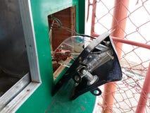Поврежденный торговый автомат стоковые фотографии rf