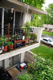 поврежденный дождь сточной канавы Стоковое Фото