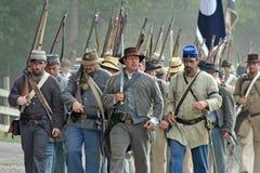 повстанец в марше Стоковое Фото