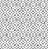 Повторите картину вектора зигзага геометрическую черно-белую абстрактную стоковая фотография rf