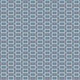 Повторять геометрическую современную стильную текстуру с в серыми, голубыми и розовыми цветами Стоковая Фотография RF
