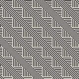 Повторять наклоненную текстуру нашивок современную Простая регулярн предпосылка геометрическая картина безшовная Стоковое Фото