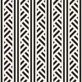 Повторять наклоненную текстуру нашивок современную Простая регулярн предпосылка геометрическая картина безшовная Стоковая Фотография