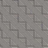 Повторять наклоненную текстуру нашивок современную Простая регулярн предпосылка геометрическая картина безшовная Стоковое Изображение RF