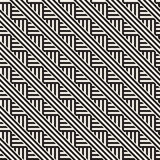 Повторять наклоненную текстуру нашивок современную Простая регулярн предпосылка геометрическая картина безшовная Стоковые Изображения RF