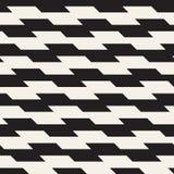 Повторять текстуру нашивок современную Простой постоянный посетитель выравнивает предпосылку Monochrome геометрическая безшовная  Стоковые Фотографии RF