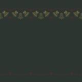 Повторяющ желтые колоколы с красными звездами silhouette картина иллюстрация штока