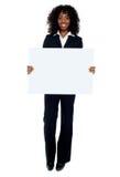 повышать повелительницы дела знамени объявления большой пустой Стоковые Фотографии RF
