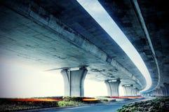 повышенная дорога вниз Стоковые Фото