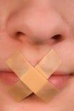 повязка запрета стоковая фотография