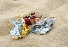 погань пляжа Стоковая Фотография