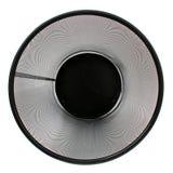 погань сетки корзины черная пустая Стоковая Фотография RF