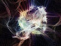 Поглощенная энергия иллюстрация штока