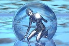 поглощенное стекло Стоковые Фотографии RF