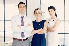 Поговорите к нашей команде больших профессионалов Стоковое Фото