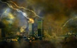 погода апокалипсиса аномалий Стоковое Фото