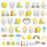 погода влюбленности икон Стоковая Фотография RF