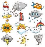 погода иконы шаржа бесплатная иллюстрация