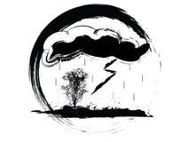 погода иконы Стоковая Фотография RF