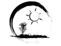 погода иконы Стоковые Изображения