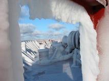 погода льда грубая стоковые фото