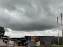 Погода создает черное стоковое фото rf