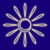 Погода солнце Лучи, ясность стоковые изображения