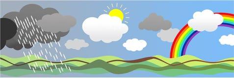 погода 2 Стоковое фото RF