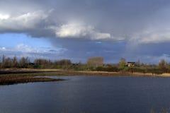 погода dike стоковая фотография rf