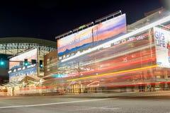Погоните поле на ноче в Фениксе, AZ Стоковые Фотографии RF