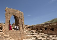 Погост древнего города Dara в Mardin, Турции стоковые фото