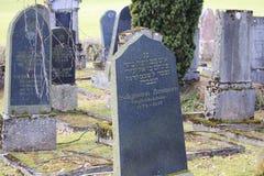 Погост кладбища Jewich Стоковые Фотографии RF