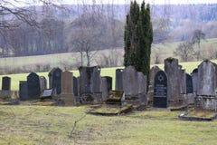 Погост кладбища Jewich Стоковые Изображения