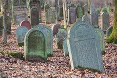 Погост кладбища Jewich Стоковое Изображение RF